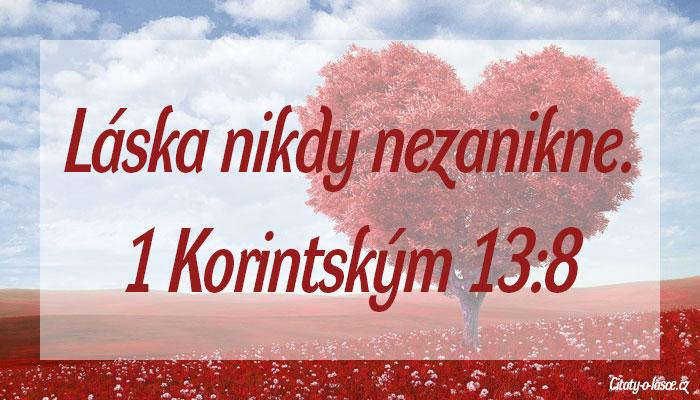 Biblický citát o lásce